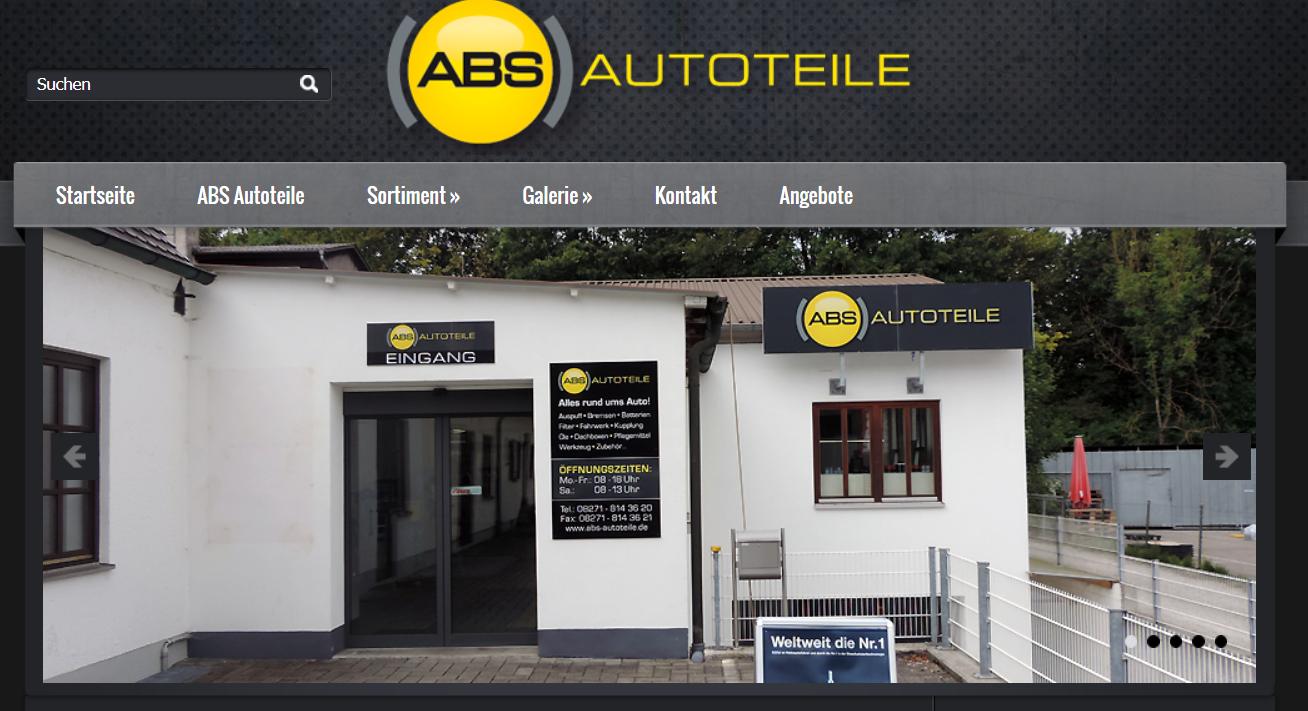 Startseite - ABS-Autoteile GmbH